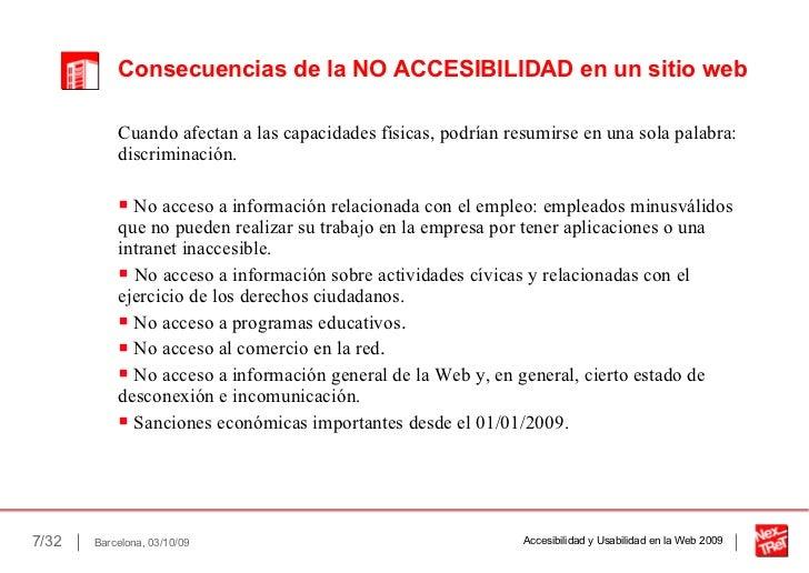 Accesibilidad y usabilidad for Que es accesibilidad