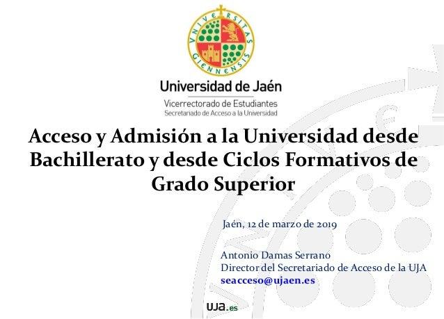 Calendario Ujaen.Acceso Y Admision A Las Universidades Andaluzas