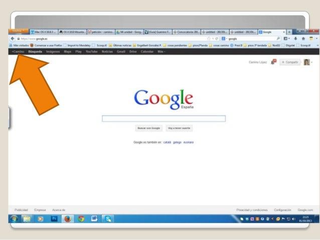 Acceso a google+ Slide 2