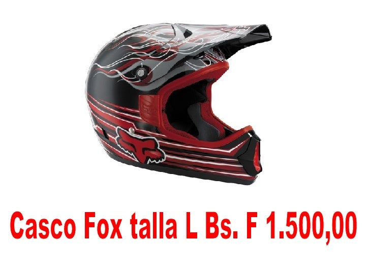 Casco Fox talla L Bs. F 1.500,00