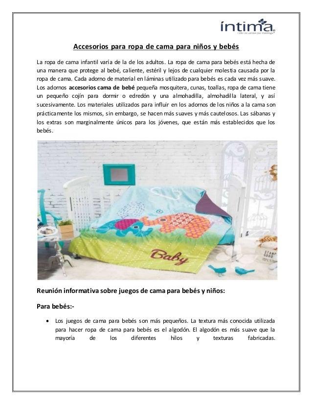 67dda99cf Accesorios para ropa de cama para niños y bebés La ropa de cama infantil  varía de ...