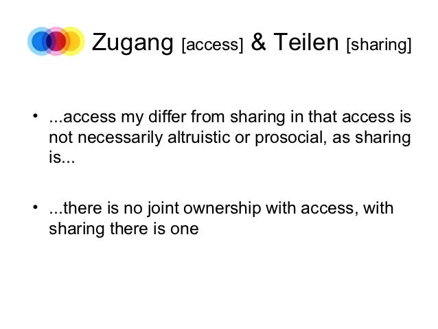 Ownership | Access | Sharing Slide 3