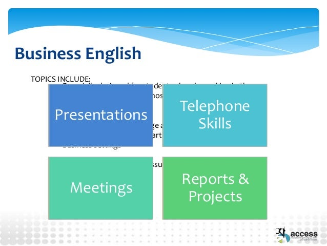 esl business presentation topics