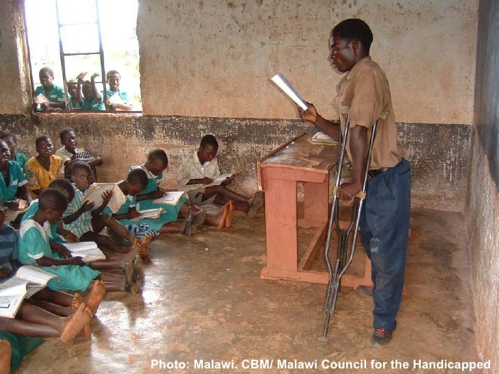 Photo: Malawi. CBM/ Malawi Council for the Handicapped