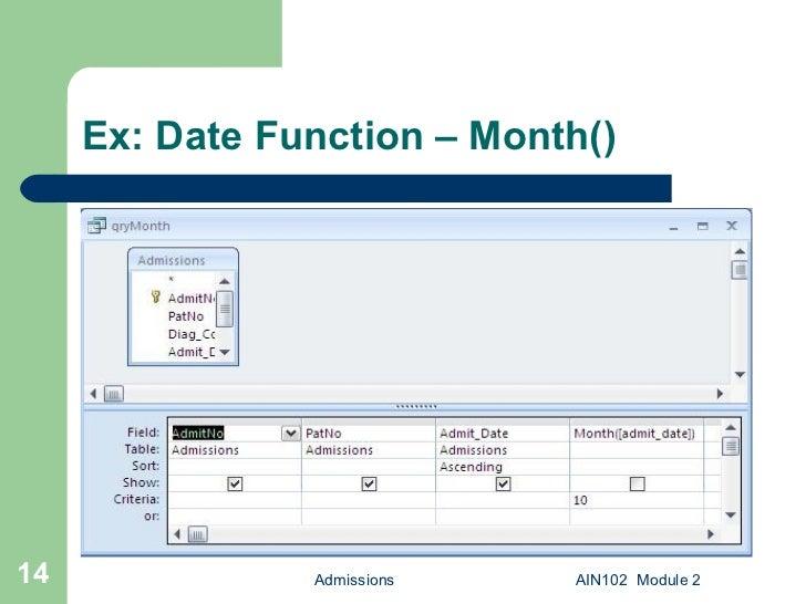 microsoft access date function - Monza berglauf-verband com