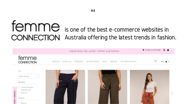 Access an array of trendy and chic wide leg pants only at Femme Slide 2