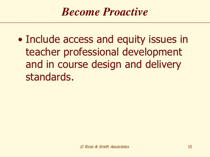 access and equity The office of access and equity coordinates the development of policy,  procedures, programs and services related to equality of opportunity in  employment,.