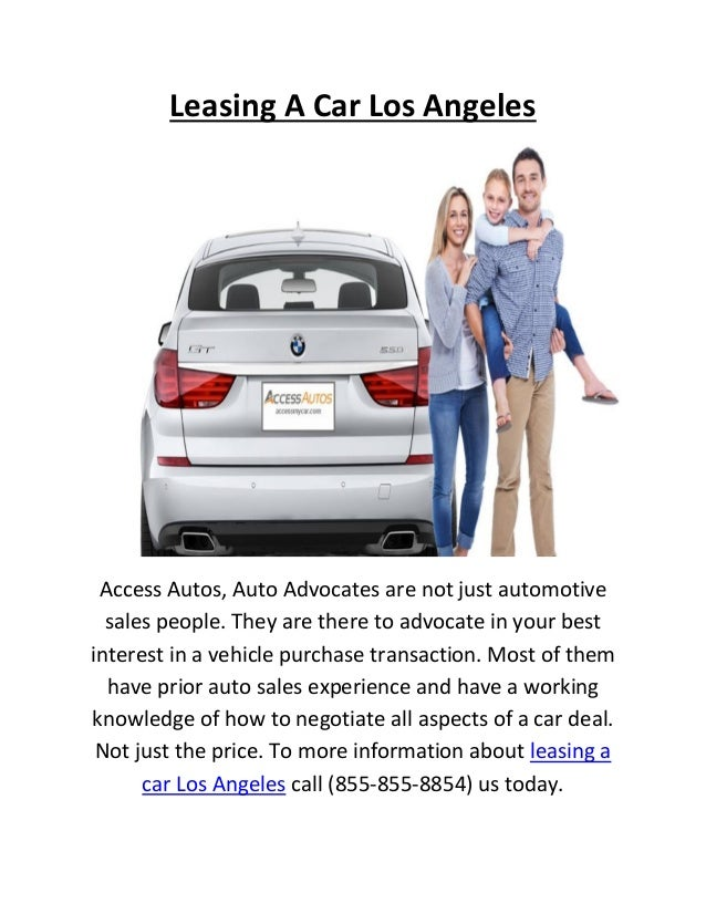 access autos offers leasing a car in los angeles. Black Bedroom Furniture Sets. Home Design Ideas