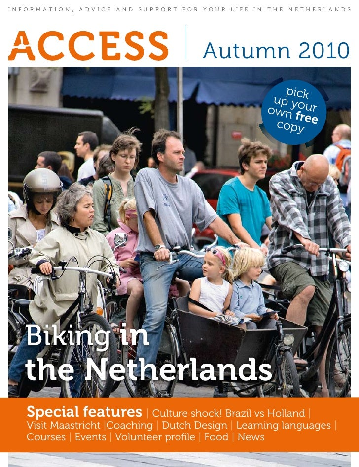 information   ,   advice and support for your life in the netherlands                                              Autumn ...
