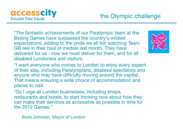 """the Olympic challenge  """"The fantastic achievements of our Paralympic team at the Beijing Games have surpassed the country'..."""