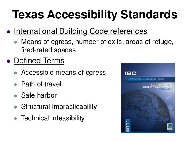 Accessibility Building Codes: ADA