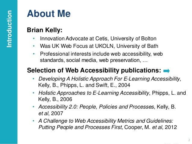 Building an Accessible Digital Institution Slide 2
