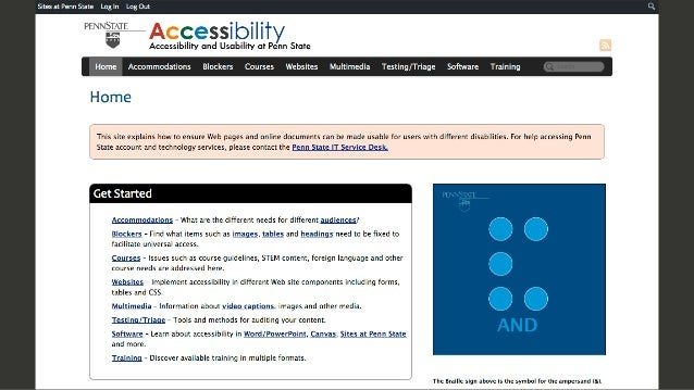 Accessibility for Digital Storytelling