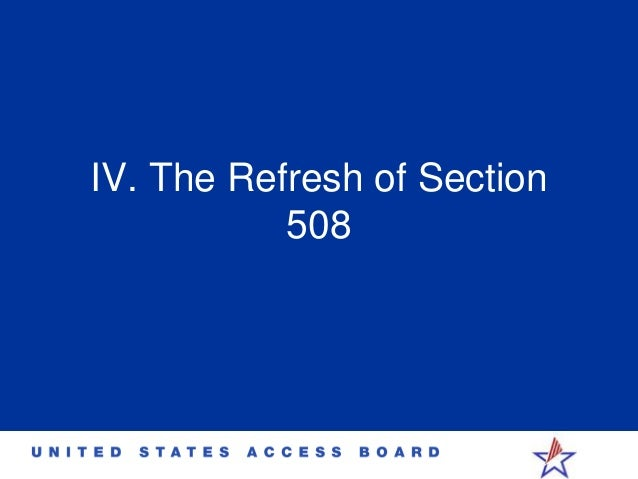 section 508 amp accessibility idrac 2014 timothy creagon