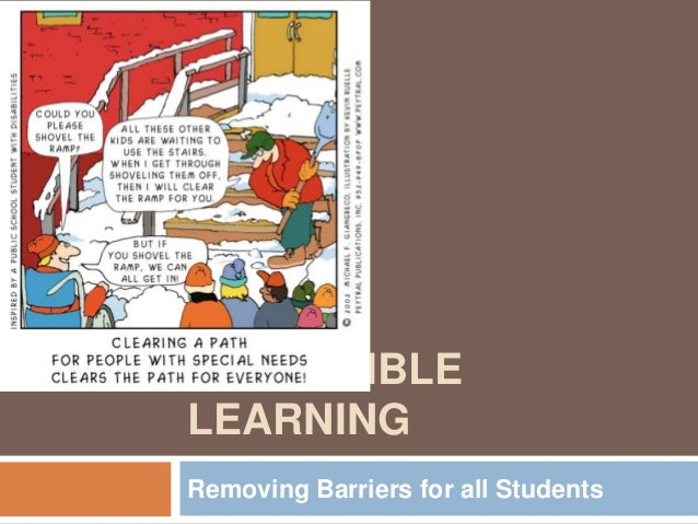 ACCESSIBLELEARNINGRemoving Barriers for all Students