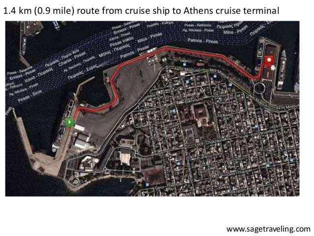 how to get from piraeus port to athens