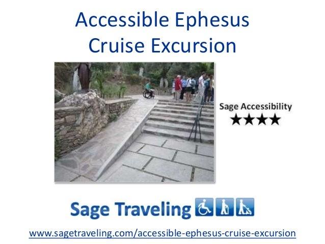 Accessible Ephesus Cruise Excursion www.sagetraveling.com/accessible-ephesus-cruise-excursion
