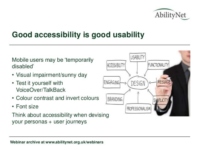 accessibility guidelines for mobile apps