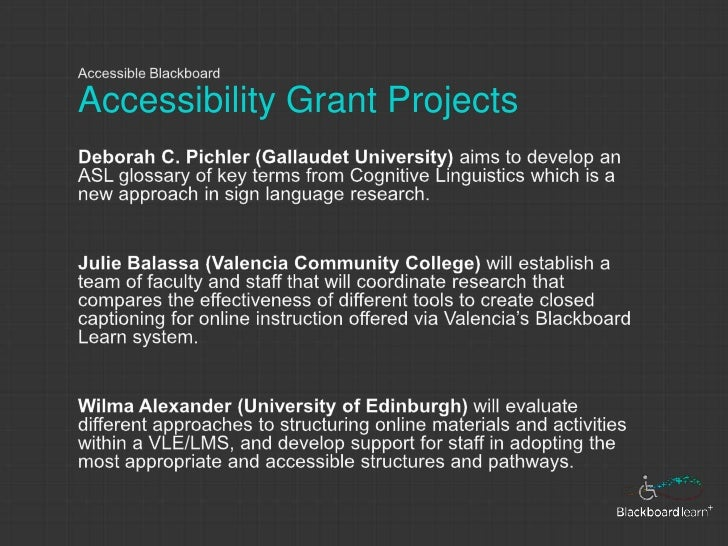 accessibility grant projects 32