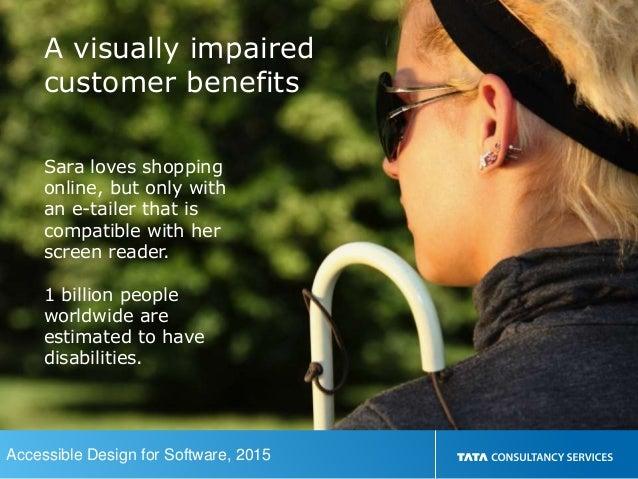 Accessible design for software Slide 3
