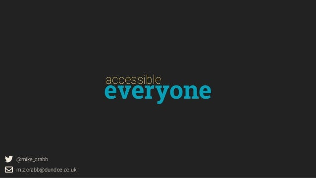 Accessible Everyone Slide 2