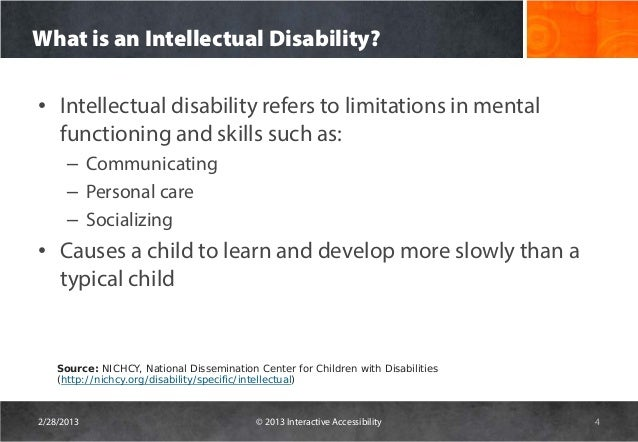 Web accessibility issues for cognitive disable