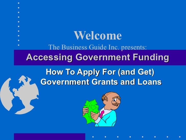 Getting Government Business Grants