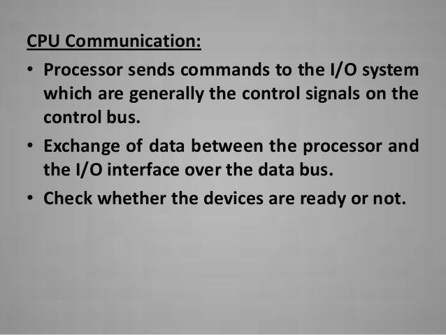 Accessing I/O Devices Slide 3