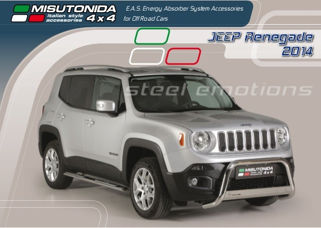 JEEP Renegade 2014 E.A.S. Energy Absorber System Accessories for Off Road Cars steel emotions