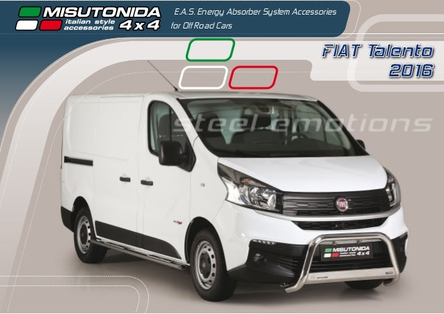 FIAT Talento 2016 E.A.S. Energy Absorber System Accessories for Off Road Cars steel emotions