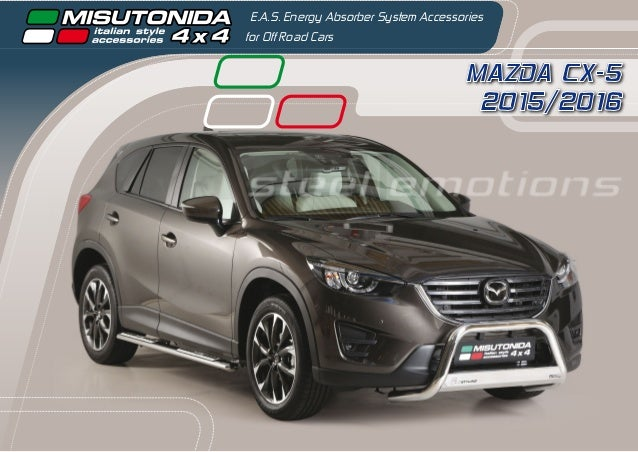MAZDA CX-5 2015/2016 E.A.S. Energy Absorber System Accessories for Off Road Cars steel emotions