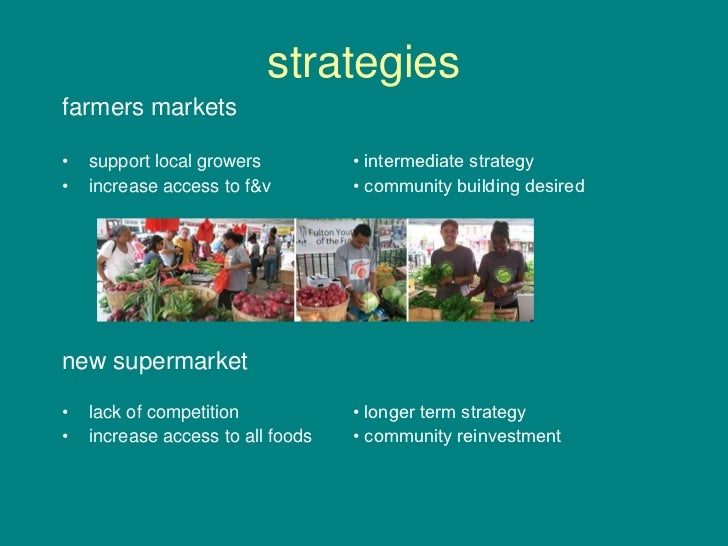 Access to Healthy Food for Underserved Populations Slide 3