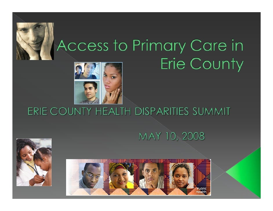 In partnership with  Erie County Department of Health  Northwest PA Area Health Education  Center  John Snow, Inc. (consul...