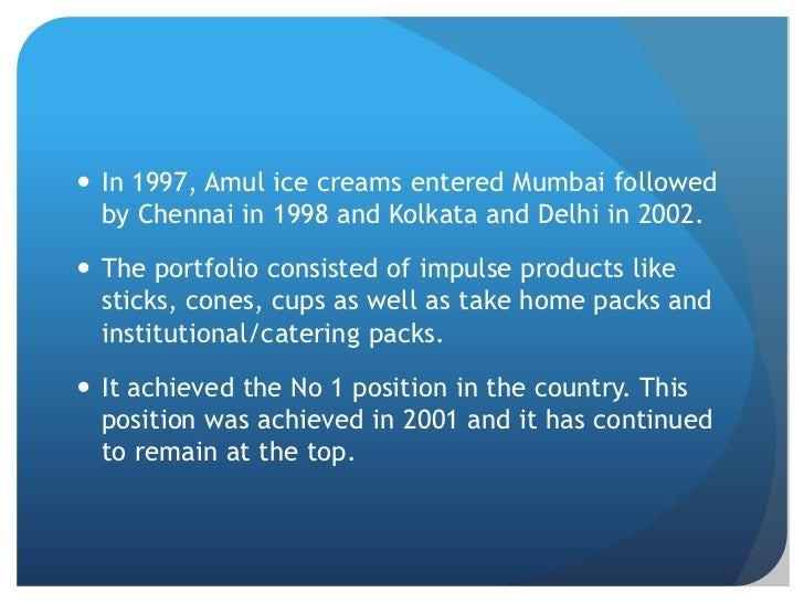 cost sheet of amul Amul ice cream cost sheet analysis agenda overview of the ice-cream industry in india about amul amul ice-cream products manufacturing.