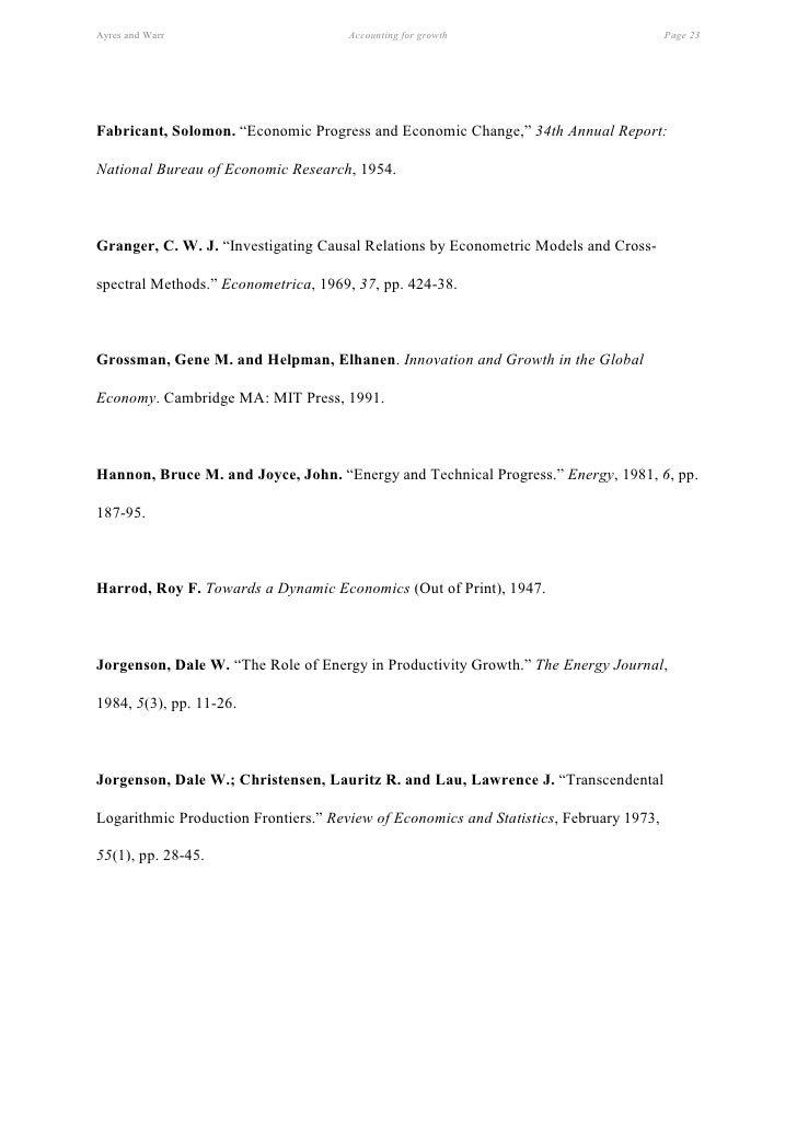 Essays theory economic growth domar