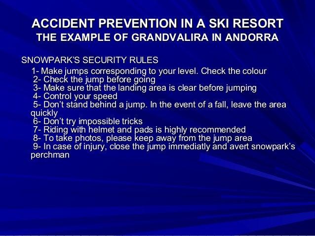 accident prevention in a ski resort  the example of grandvalira in an u2026