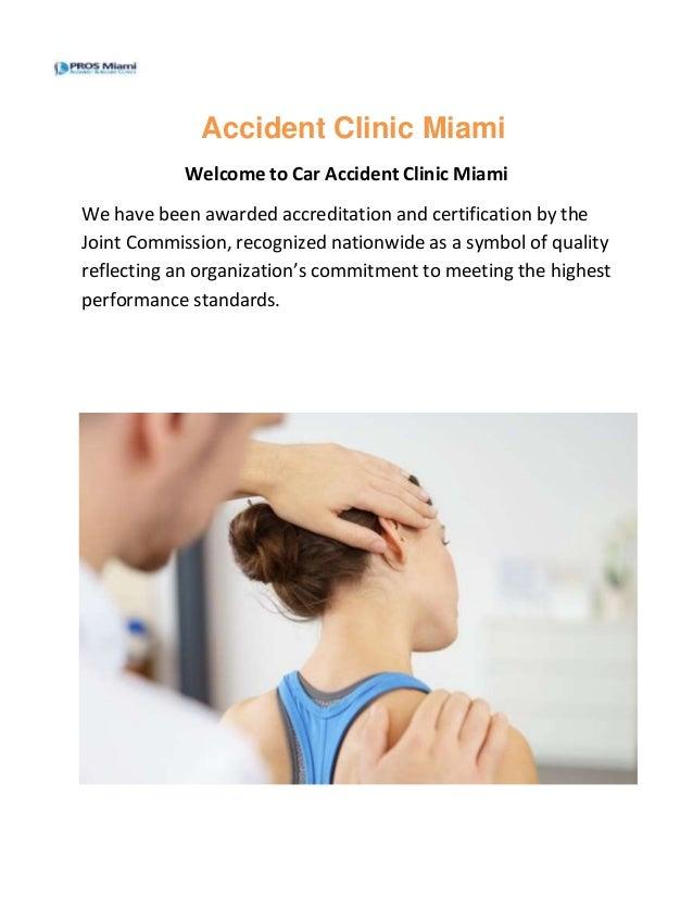 Accident clinic miami - Prosmiami