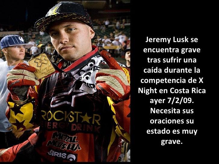 Accidente de Jeremy Lusk Slide 3