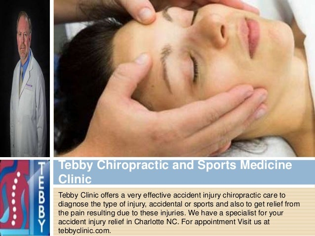 Tebby Clinic offers a very effective accident injury chiropractic care to diagnose the type of injury, accidental or sport...