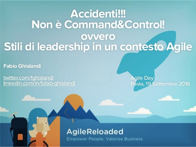Accidenti!!! Non è Command&Control!