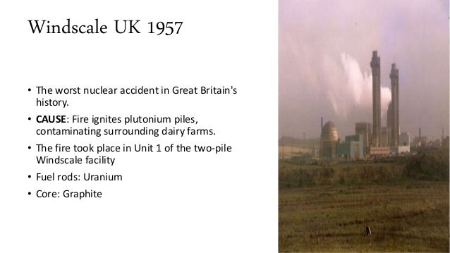 Accidents in nuclear power plants