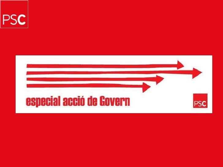 Butlletí n.23. Acció de Govern Slide 1