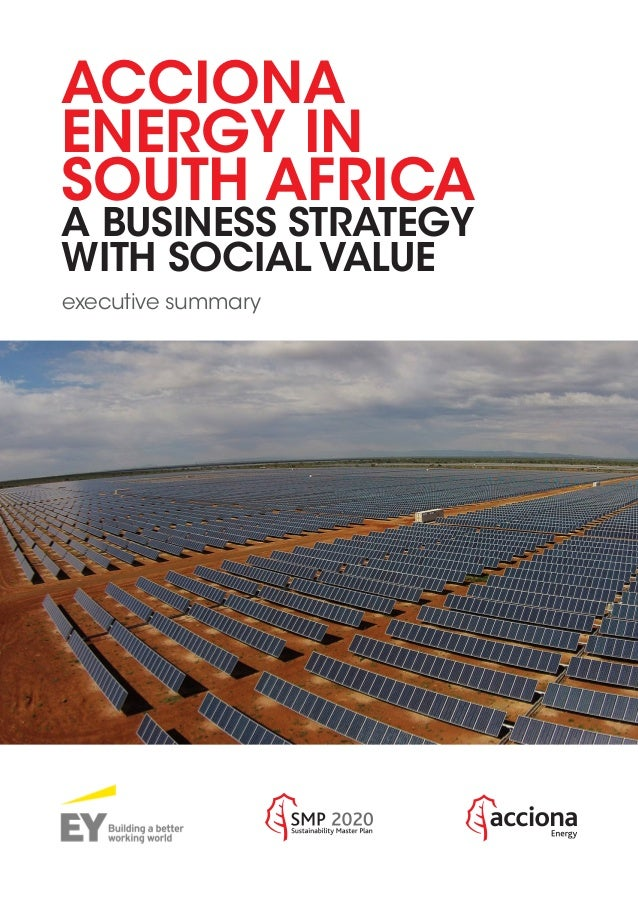 ACCIONA ENERGY IN SOUTH AFRICA: A BUSINESS STRATEGY WITH
