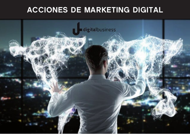 Acciones de marketing digital