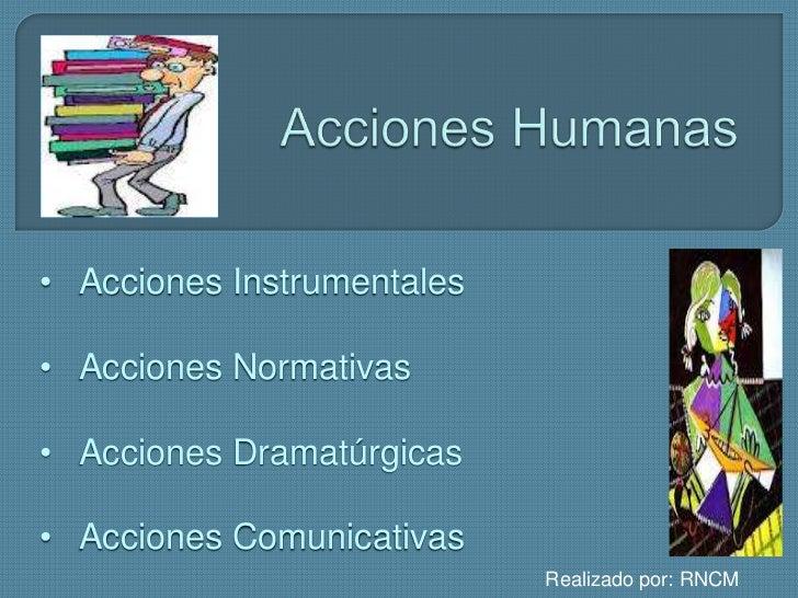 Acciones humanas Slide 3
