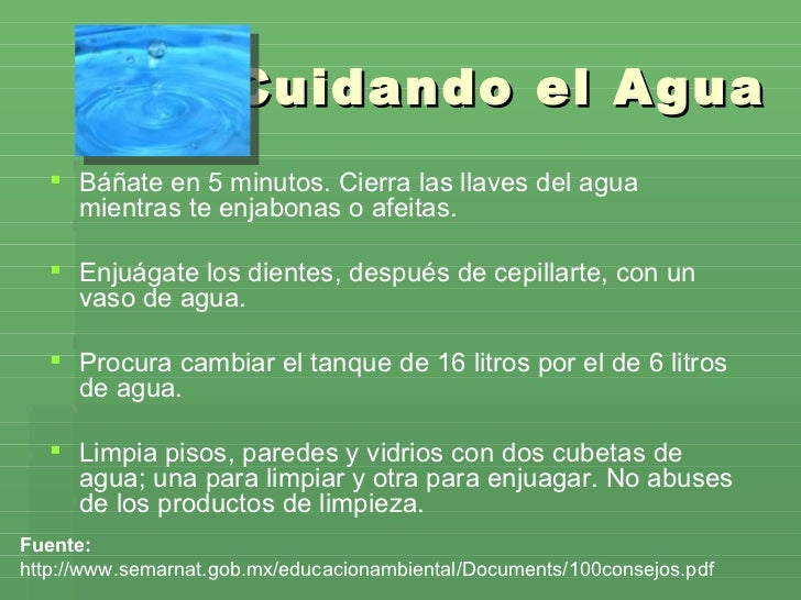 Acciones Para Cuidar El Medio Ambiente