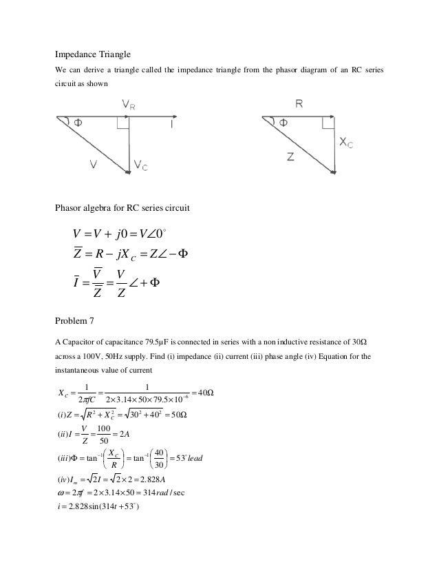 Ac circuits notes