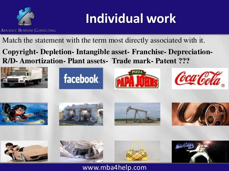 intangible assets  patents  copyrights