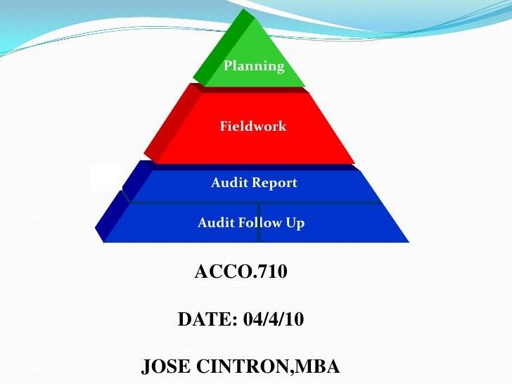 Audit Process, Planning,Field work,Audit report,Audit follow up,Audit programt,Final report