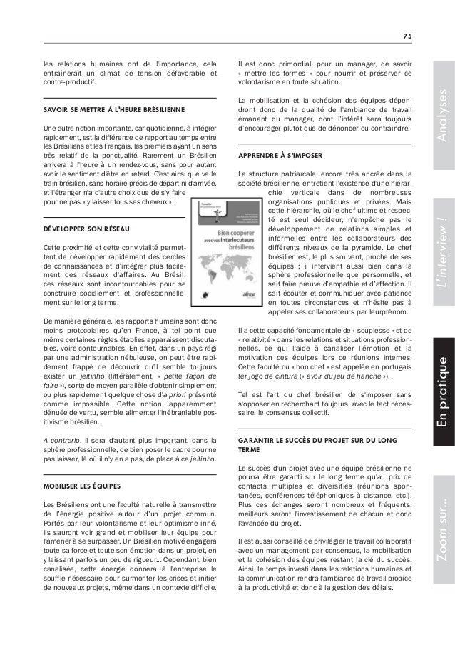 Décoder la culture brésilienne (Revue de l'actualité du commerce international)  Slide 2